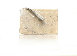White Metallic Pochette